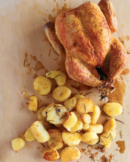 Martha Stewart roast chicken - WhatWouldGwynethDo
