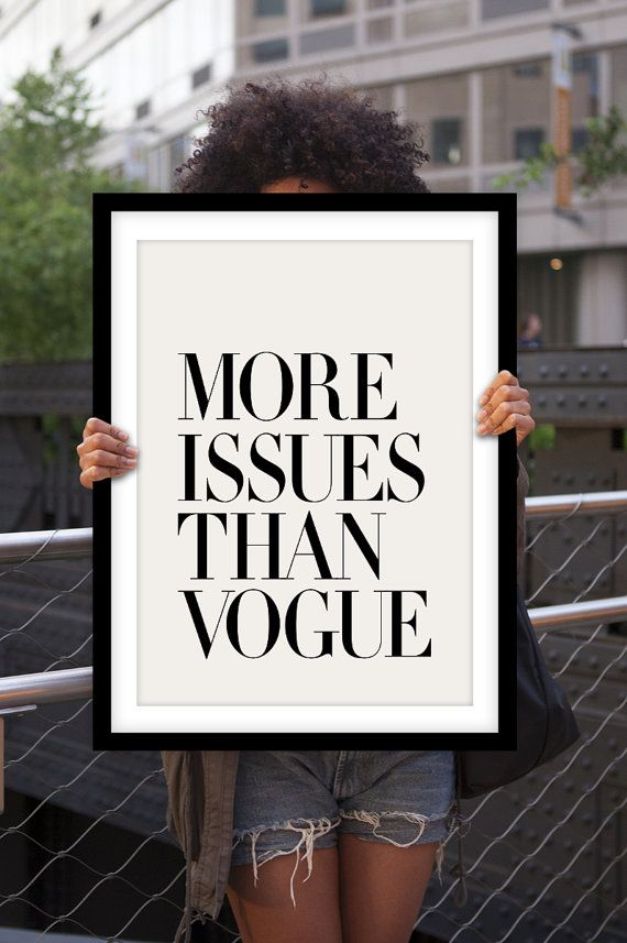 MoreIssuesThanVogue